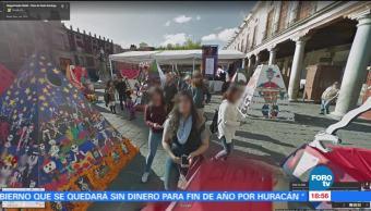 El Día de Muertos en Google Street View