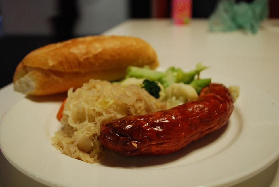 Bratwurst en Oktoberfest