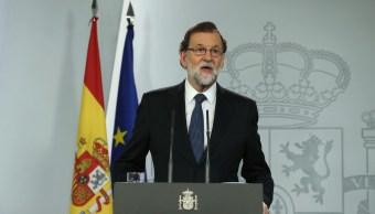 Hoy no ha habido un referéndum, ha habido una escenificación: Rajoy
