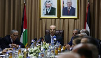 gobierno palestino se reune gaza 2014