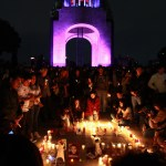 veladoras voluntarios honran victimas sismo cdmx