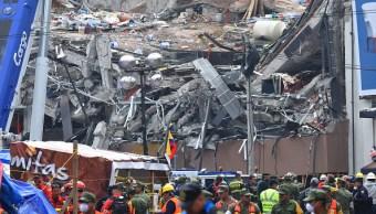 Buscan ocho cuerpos más en edificio de Álvaro Obregón 286: Mancera