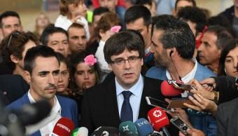 Líder de Cataluña abre la puerta a secesión de España