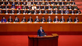 Xi Jinping promete una China 'erguida entre todas las naciones' en 2050