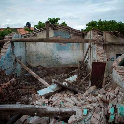 A seis meses del sismo del 7S la reconstrucción es lenta, en Oaxaca