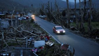 Afectaciones en Yabucoa, Puerto Rico, tras el paso del huracán María