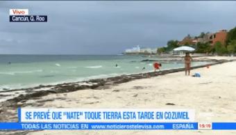 Alerta Q. Roo Tormenta Tropical Nate Quintana Roo