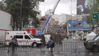 Se han recuperado 48 cuerpos en Álvaro Obregón