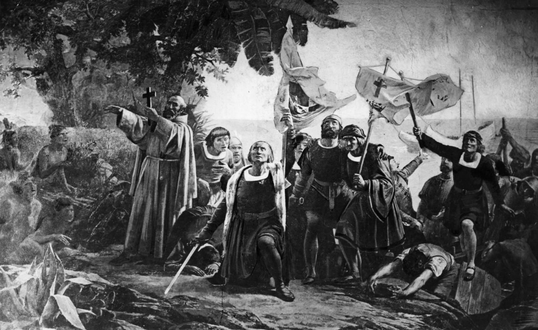 América, Descubierta, No, Españoles, Colón, Raza