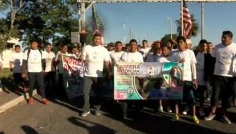 antorcha guadalupana llega a ciudad madero tamaulipas