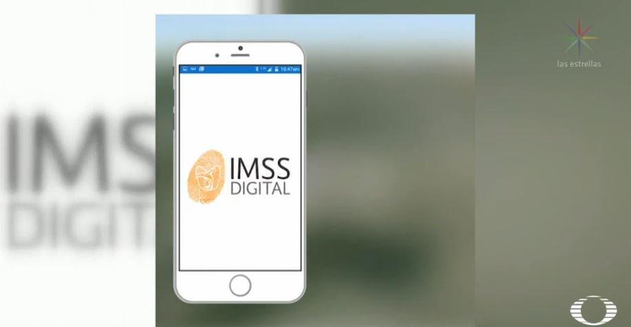 Aplicación 'CHKT en Línea' del IMSS. (Noticieros Televisa)