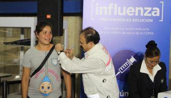 Aplicarán 2 millones 737 mil vacunas contra la influenza en la CDMX