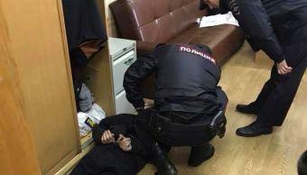 Atacan con cuchillo a periodista radiofónica en Moscú