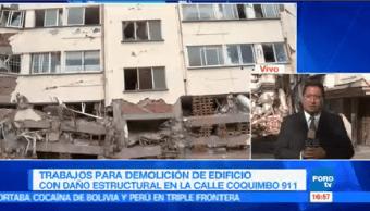 No Inicia Demolición Coquimbo 911 Permisos Dictámenes