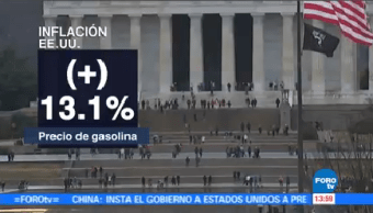 Avanza Inflación Estados Unidos Reporte Oficial Índice Precios Consumidor