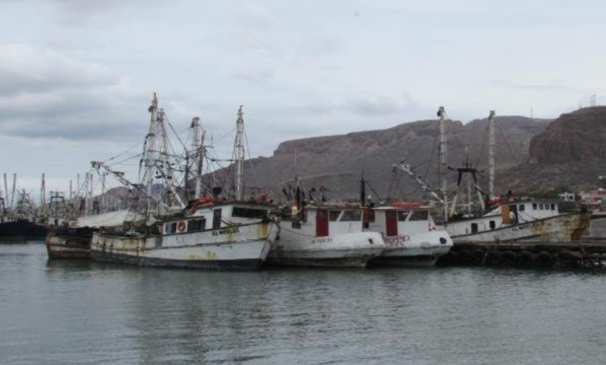 barcos abandonados contaminan bahias guaymas