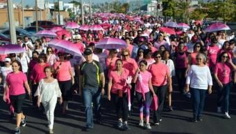 marchan sonora concientizar cancer mama
