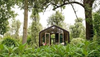 Holanda construye casas lujosas de cartón que pueden durar 100 años