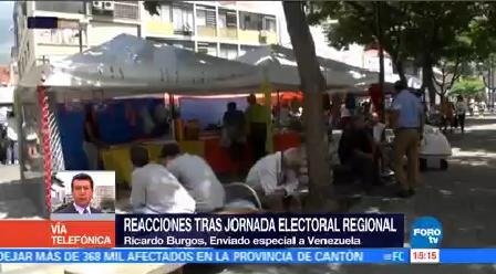 Chavismo Arrasa Elecciones Regionales Consejo Nacional Electoral
