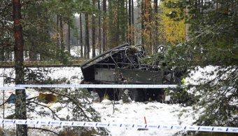choque tren camion cuatro muertos finlandia