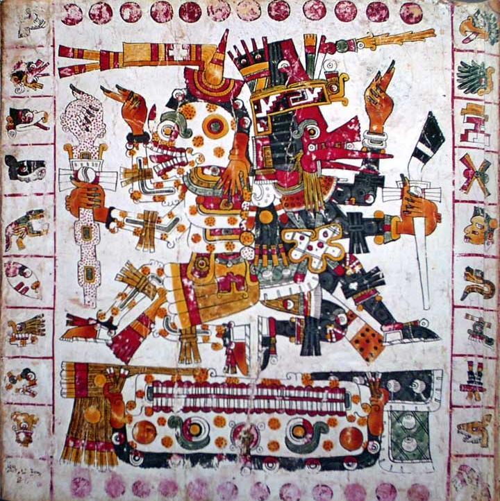 CodexBorgia-mictlantecuhtli.mexicas-atztecas-día-de-muertos