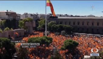 Collage Cataluña Crisis España