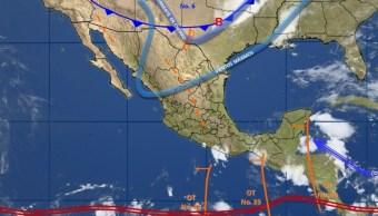 Frente frío número 6 generará tormentas y bajas temperaturas en México