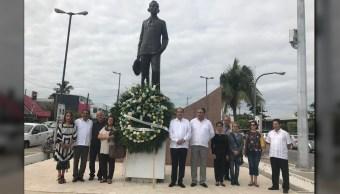 Conmemoran en Veracruz el 120 Aniversario del Natalicio de Agustín Lara. (Fundación 500 años de la Vera Cruz A.C.)