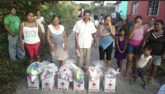 Cruz Roja cierra centros de acopio en todo el país