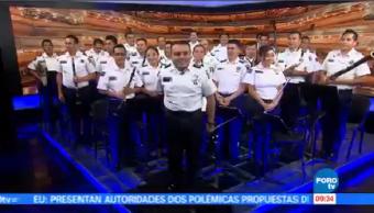Cumple 10 Años Banda Aliento Sinfónica Alientos Policía Federal