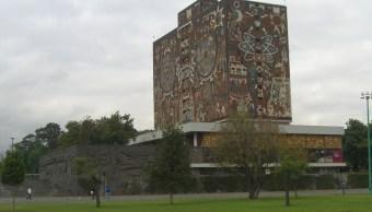 Estudiante UNAM Arquitectura suicida Ciudad Universitaria