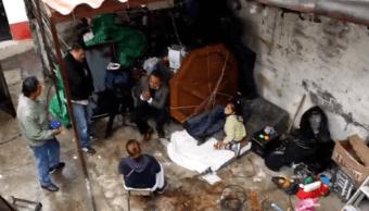 Damnificados del sismo en Xochimilco se organizan para vigilar sus casas