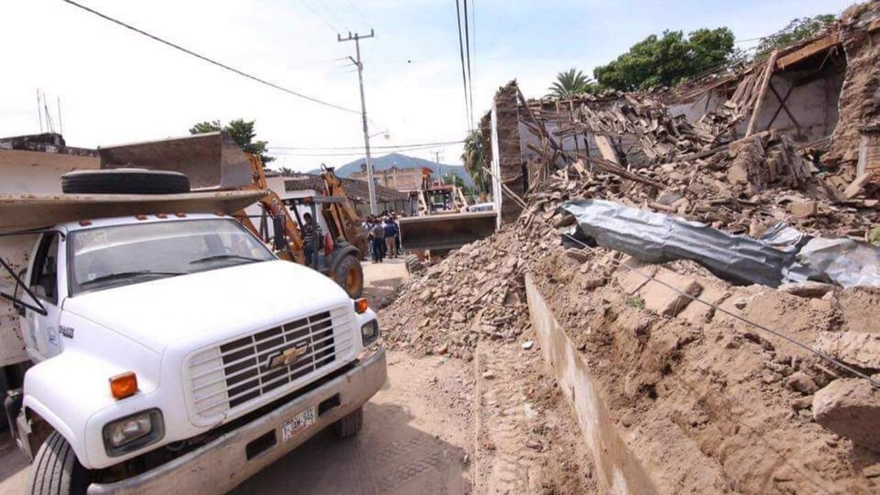 Continúa censo de viviendas afectados por sismo en Guerrero