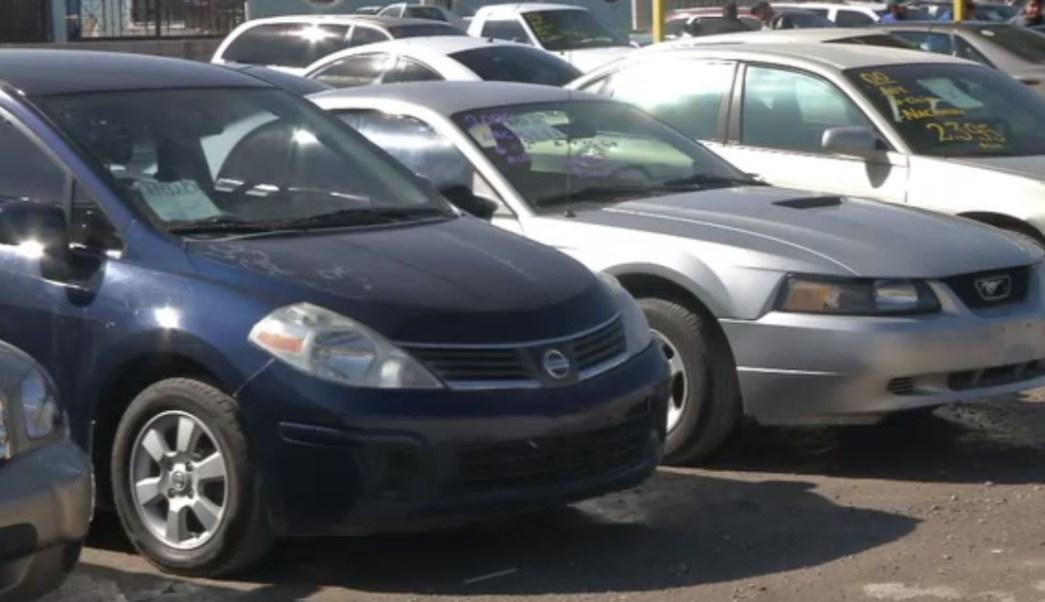Decomisan en Ciudad Juárez vehículos extranjeros que entraron ilegalmente de Estados Unidos