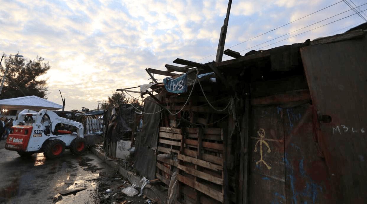 Retiran campamento en Iztapalapa; más de mil personas serán reubicadas