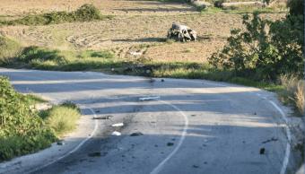 El auto de la periodista estalló y le provocó la muerte