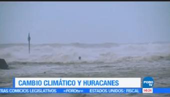 Cambio Climático Fenómenos Naturales Gravedad Tormentas Huracanes