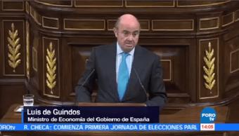 Futuro Económico Cataluña Borrascoso Luis Guindos Ministro Economía Español
