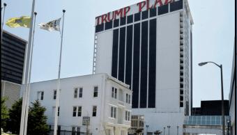 El hotel y casino Trump Plaza en en Atlantic City, Nueva Jersey