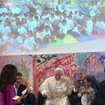El papa conversó a través de videoconferencia con ninos mexicanos