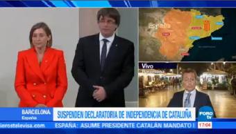 Suspenso Declaratoria Independentista Cataluña Alberto Peláez