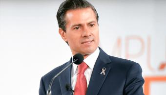 Enrique Peña Nieto, presidente de México, en el foro 'Impulsando a México'