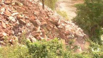 depositan toneladas escombro rio ixtaltepec oaxaca