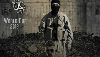 Con imagen de Cristiano Ronaldo ISIS amenaza a Rusia 2018