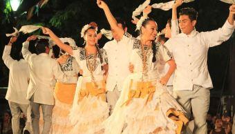 Celebran fiesta del Palmar y del Sarao en Campeche
