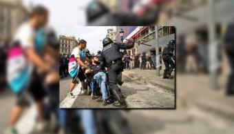 Advierten sobre imágenes falsas de la violencia en Cataluna