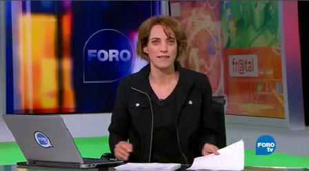 Fractal Programa octubre Noticieros Televisa FOROtv Ana Francisca Vega