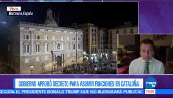 Gobierno Aprueba Decreto Asumir Funciones Cataluña