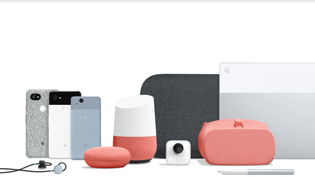 google presenta sus telefonos google pixel 2 y google pixel 2 xl