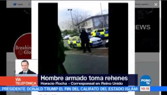 Hombre Armado Toma Rehenes Boliche Reino Unido Reportan Medios Locales